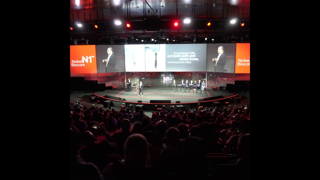 Nobel Biocare annonce à Madrid un nouveau système d'implants révolutionnaire