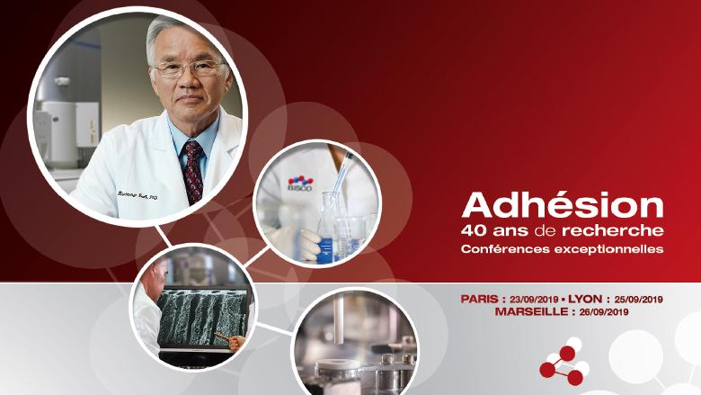 Conférences exceptionnelles : Adhésion, 40 ans de recherche
