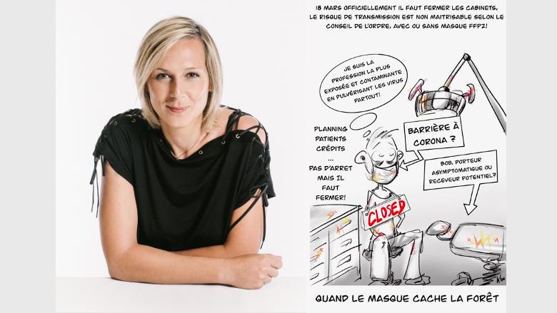 La crise du coronavirus vue par les dentistes dans le monde : Dr Carole Leconte, France