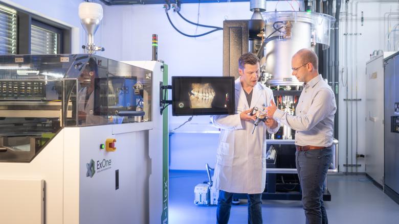 L'institut Fraunhofer développe des technologies d'impression 3D pour des applications médicales