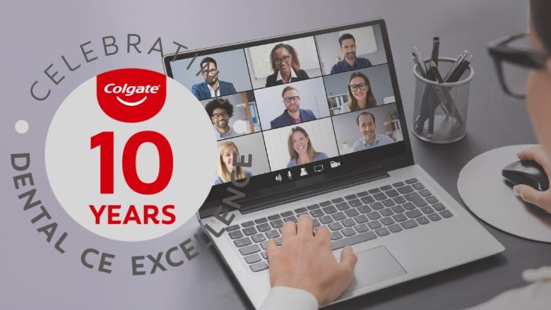 COHN de Colgate fête son dixième anniversaire de services aux professionnels du secteur dentaire