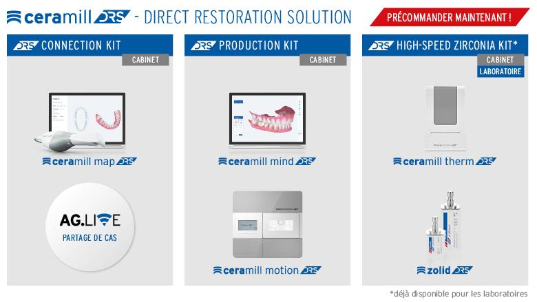 Extension du flux de travail numérique Ceramill CAD/CAM au cabinet dentaire